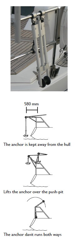Anchor Davit Diagram