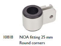 NOA Fitting Round Corners
